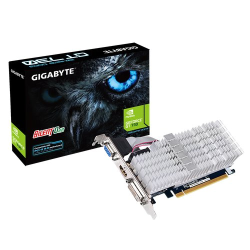 Gigabyte GVN730SL2L-00-G - Tarjeta gráfica (4096 x 2160 píxeles, NVI