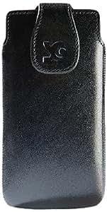 Suncase Ledertasche für das Sony Xperia SP schwarz