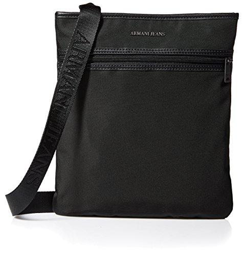 Armani Jeans borsa uomo a tracolla borsello originale suitable for tablet nero