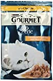 5 X Purina Gourmet Perle Connoisseur's Collection Mini Fillets in Gravy with Chicken Wet Cat Food 24 x 85 g