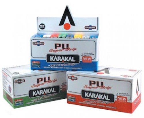 Karakal weiß Universal PU Ersatz Griff - 24er Schachtel -