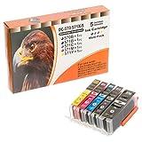 ESMOnline 5 komp. XL Tintenpatronen als Ersatz für Canon Pixma MG5700 MG5750 MG5751 MG5752 MG5753 Pixma MG6800 MG6850 MG6851 MG6852 MG6853 Pixma MG7700 MG7750 MG7751 MG7752 MG7753 Pixma TS5050 TS5051 TS5053 TS5055 Pixma TS6050 TS6051 TS6052 Pixma TS8050 TS8051 TS8052 TS8053 Pixma TS9050 TS9055
