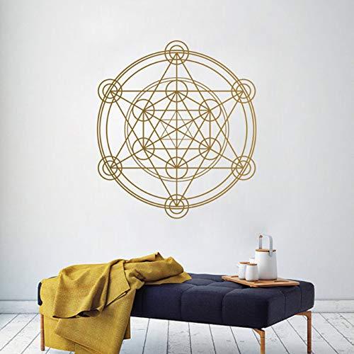Geometría Adhesivo pared Metatron Cubo Alquimia Geométrica