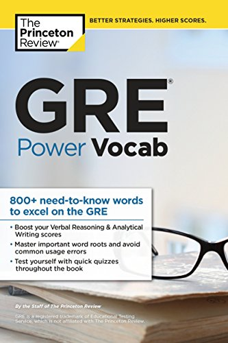 Gre Power Vocab (Princetown Review)