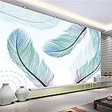 Mbwlkj Benutzerdefinierte Wandbilder Natur Hintergrundbilder Abstrakten 3D Tapete Modernes Wohnzimmer Möbel Ideen Home Decor Schlafzimmer Tv-Raum-250Cmx175Cm