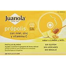 Juanola Propolis Mielvitc, 24 Pastillas de Goma