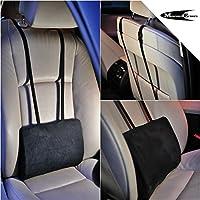 Cuscino lombare di supporto posteriore per sedile auto e sedie da ufficio