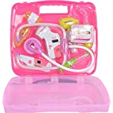 Toyshine Sunshine Gifting Doctor Set Pretend Play Toy with Light Sound Effects for Kids (KT-OB30-24IH, Pink)