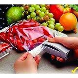 Epyz Super Sealer Handheld Mini Battery Operated Plastic Food Vegetable Bag Pouch (White, 3926)
