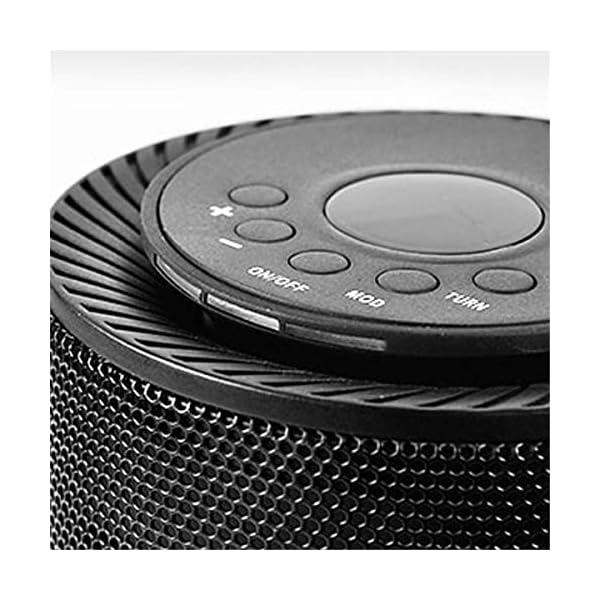 XUEYE ABS Cilíndrico De Cerámica Calefacción Calentador Ventilador, Mini Calefacción Calentador Calentadores 3