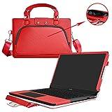Huawei MateBook D Funda,2 in 1 Diseñado especialmente La Funda protectora de cuero de PU + l...