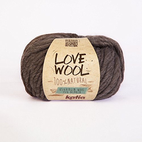 Katia Wolle Liebe #103 super chunky 12-15mm Nadeln 85% Wolle 15% alpaca 100 G Knäuel -