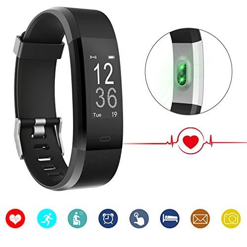 CUBOT AiDo Smartwatch Pulsera Actividad Inteligente Fitness Tracker Reloj Sports Smart Band Pulsometros Ritmo Cardiaco Monitor de Dormir con Bluetooth, Apoyo Android y iOS Teléfono Móvil