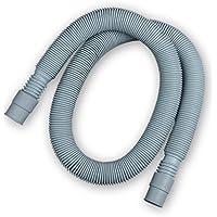 Manguera de desagüe extensible para lavadoras, lavavajillas y Aparatos de aire acondicionado. De 60cm a 200 cm. Incluye Abrazaderas