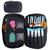 travelmall Profi Make Up Pinsel Kosmetik Organizer Make-up Künstler Fall