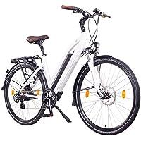 "NCM Milano Bicicleta eléctrica de Trekking, 250W, Batería 48V 13Ah 624Wh (28"" Blanco)"