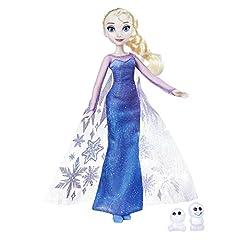 Idea Regalo - Disney Frozen - Bambola Northern Lights Elsa & Snowgie , B9201ES0