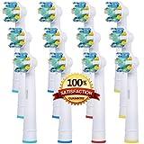 Hohe Qualität Ersatz Elektrische Zahnbürste Köpfe Kompatibel für Ersetzen Oral B Floss Aktion Generische Zahnbürste köpfe (EB25-12C)