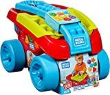Mega Bloks FVJ47 Mega Blocks Shape Sorting Wagon Toy, Multi-Colour, One Size