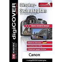digiCOVER Protettiva Pellicola  Ibrido di Vetro per Canon PowerShot N / N2