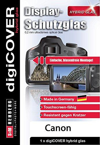 digiCOVER Hybrid Glas Displayschutz Canon EOS 1D X 1d Protector