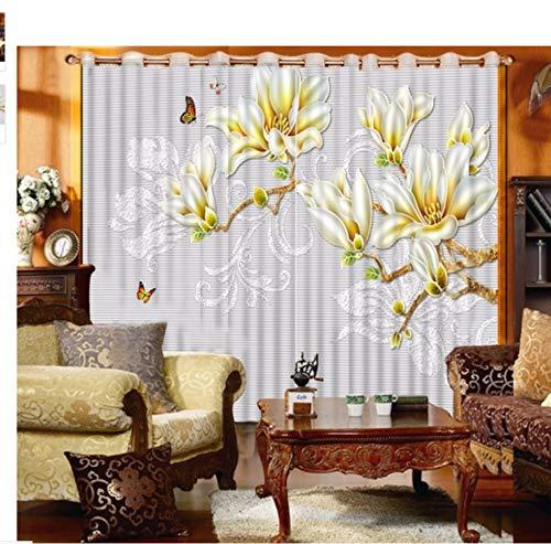 MSCLY 3D Vorhänge Für Fenster Behandlungen Foto Sonnenschutz Schlafzimmer Vorhänge Küche Home Office Dekorative Vorhänge Cortinas H200Xw200Cm 5816 Fenster