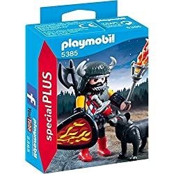 Playmobil Special Plus (5385) - Guerrero con lobo