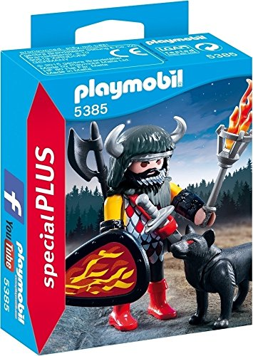 Playmobil Especiales Plus- Wolf Warrior Figura con Accesorios, (5385)