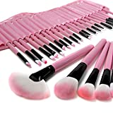 Lychee 32teilig Make-up Brush Kosmetik Pinsel Lidschattenpinsel Rougepinsel Set mit