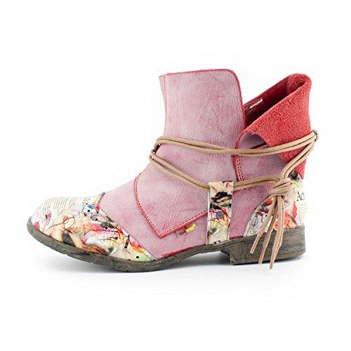 Tma Soul Look Da Donna Slip Boots, Vera Pelle, Colori Disponibili, Taglie 36-42 / 43 Old Pink