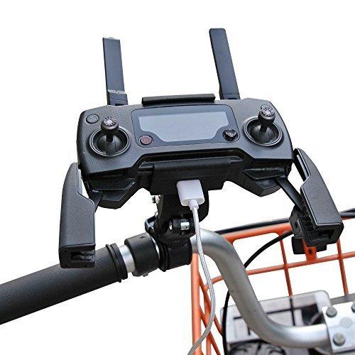 Preisvergleich Produktbild RCstyle Controller Bike Mount Transmitter Bracket für DJI Mavic Pro Drone-Schwarz