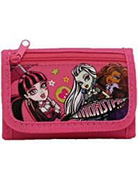 Nouveau Monster High Rose Tri-Fold Portefeuille