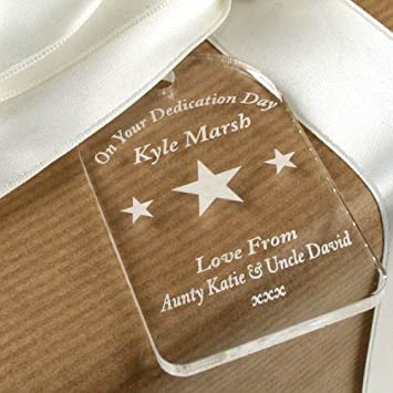 Baby dedication gifts uk