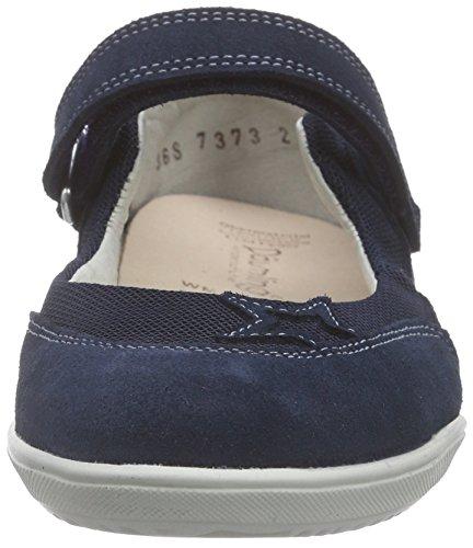 Däumling Agata - Amanda 390101S0289 Mädchen Ballerinas Blau (Turino tiefsee46)