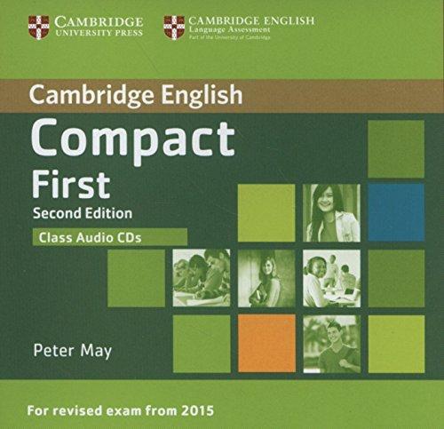 Compact First Class Audio CDs (2)