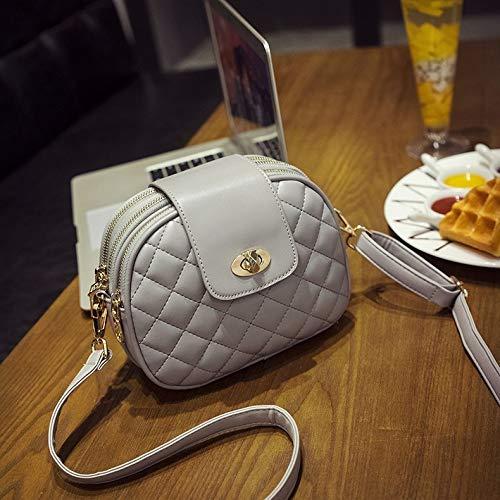 HHdstb Diamantgitter Kleine Umhängetasche Für Frauen Qualität Weibliche Flap Bag Klassische Damen Umhängetasche Sac - Klassische Flap Bag