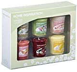 Yankee Candle–Home Inspiration sei fragranza floreale/Fruits set regalo