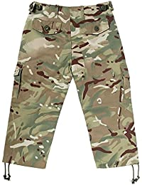 KAS Kids Quality Multi Terrain Camo Army Combat Trousers -11/12yrs