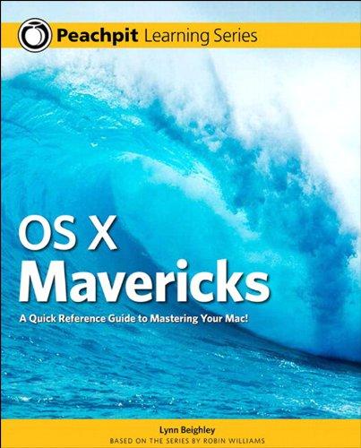 OS X Mavericks: Peachpit Learning Series (English Edition)