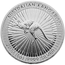 Moneda de Plata Canguro–2017–1onza–prägefrisch–Envase en monedas Cápsula Individual