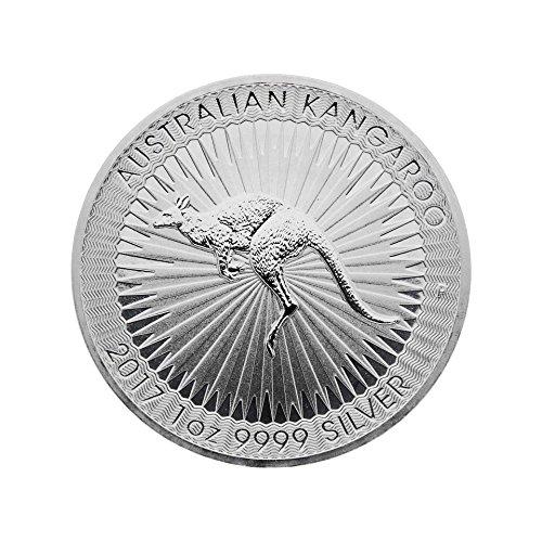 Silbermünze Känguru - 2017 - 1 Unze - prägefrisch - einzeln in Münzkapsel verpackt