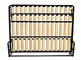 Cama De Matrimonio Abatible Horizontal 135 x 190 cm (cama doble estilo