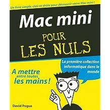 MAC MINI POUR LES NULS