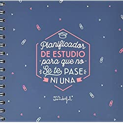 Mr. Wonderful - Planificador de Estudio con diseño