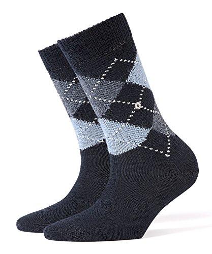 BURLINGTON Damen Socken Whitby - Warm Und Weich, 1 Paar, Blau (Marine 6120), Größe: 36-41