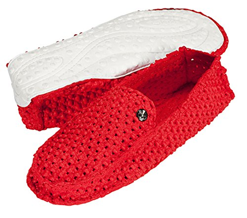LE DD PLANET MOCCASIN red