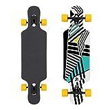 Jan Banan Longboard Design Razzle Dazzle Cruiser Longboards für Anfänger, Einsteiger, Jungen, Mädchen und Profis