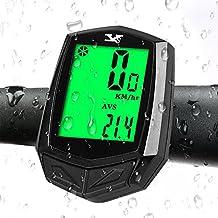 ECHOICE Compteur Kilometrique de Vélo Sans Fil, Ordinateur de Vélo de Route Etanche avec Support et Accessoire