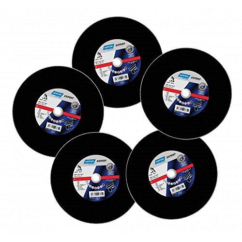 saint-gobain-norton-66252836177-lot-de-5-disques-pour-decouper-le-metal-acier-inoxydable-350-x-3-x-2