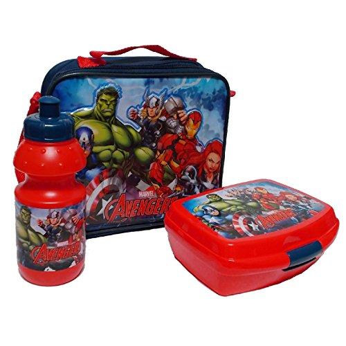 Star  Marvel Avengers Art. Code - 48971 Lunchboxen-Set, 3-teilig (Handtuch-set Avenger)